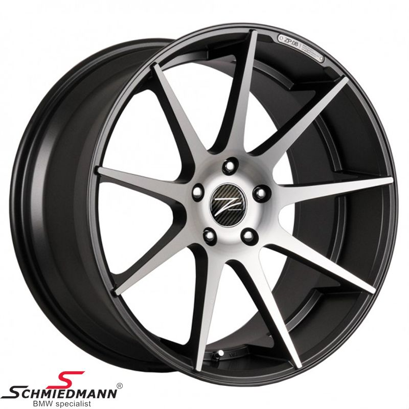 "20"" Z-Performance -Type 8- rim 10x20 ET35, Gun Metal FP matte (fits only rear)"