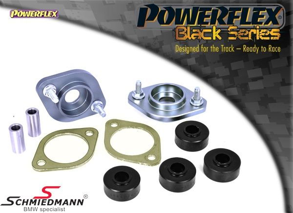Powerflex racing -Black Series- guide support set on top of the shock absorbers rear (there is 2 pcs installed/sold as a set with 2pcs)