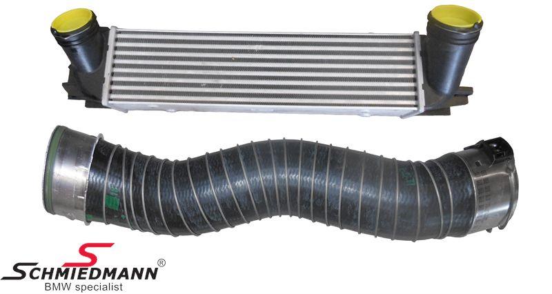Intercooler original -BMW Performance- inkl. luftslange (da intercooleren er væsentligt større end standard, er den perfekt i forbindelse med fx. en chip-tuning)