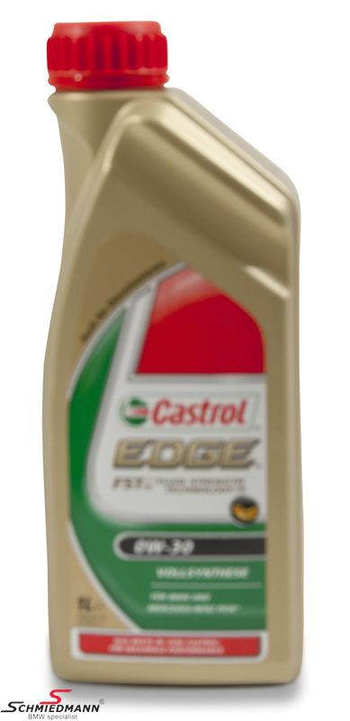 Motoroil Castrol 0W30 Edge FST fully synthetic 1 liter can