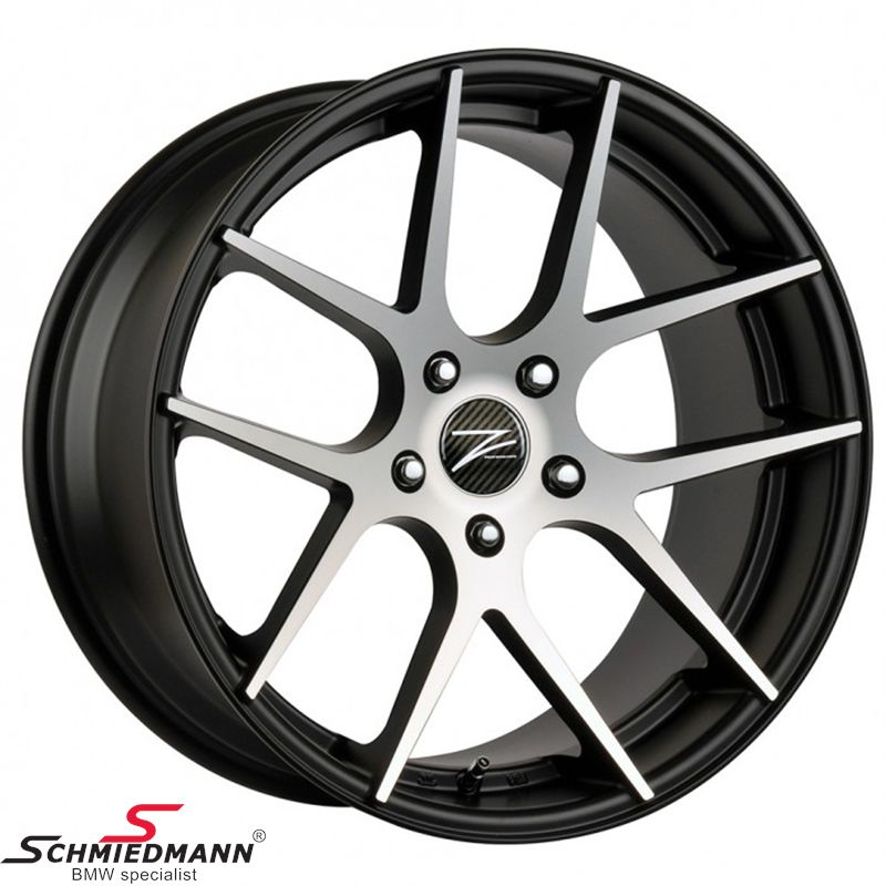 "18"" Z-Performance -Type 7- rim 8x18, Matte Black FP polished"