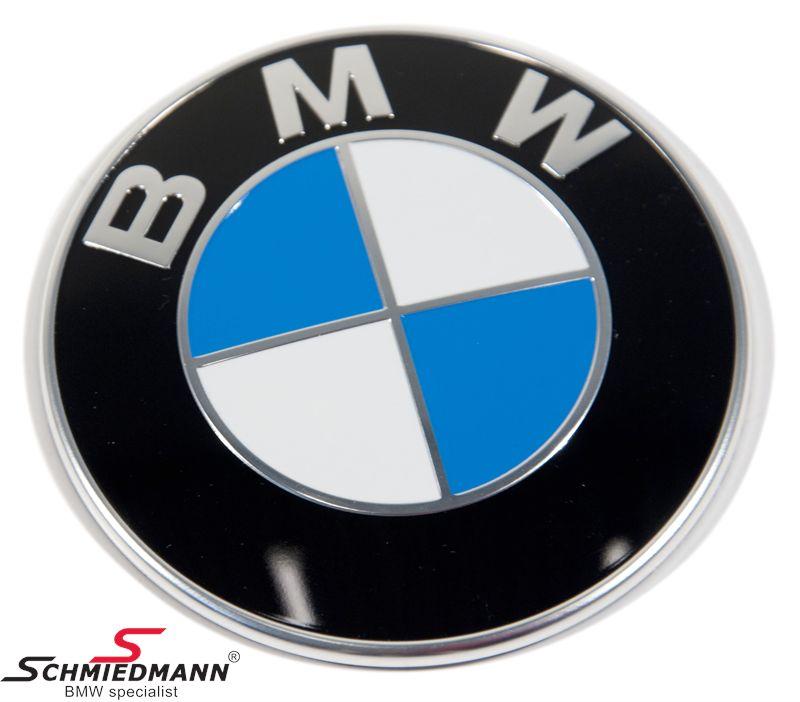 Emblem motorhuv  -BMW-