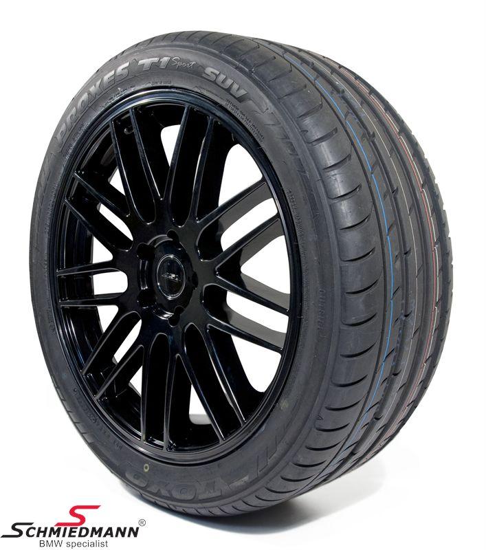"20"" original ASA GT1 sorte (seidenmatt schwarz) 9+10,5X20 m. 275/40+315/35/20"