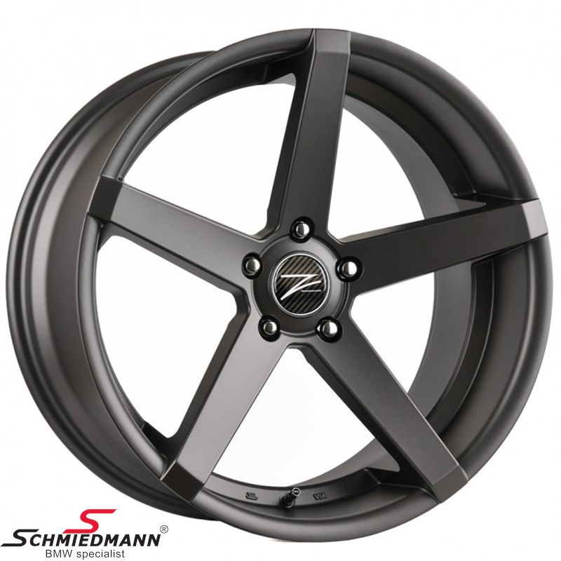 "20"" Z-Performance -Type 6- rim 8,5x20 ET35, Matte Gun Metal"
