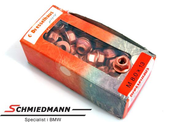 Thermagbunmutter Kupfer 8X13 100 Stück