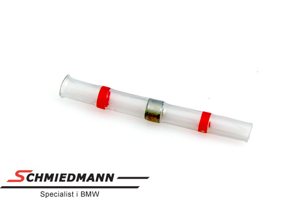 Krympeflex rød (mellem) med tin pr. stk.