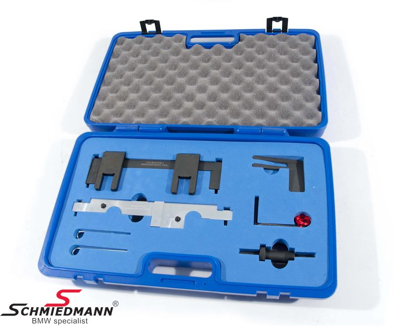 Camshaft alignment/timing tool set for N43 engines