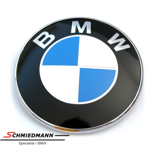 Emblem trunk lid BMW 73MM