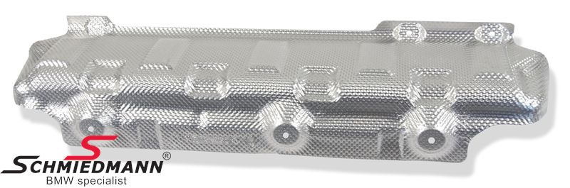 Heatshield for the exhaust original BMW, necessary when when retrofitting a drawhook