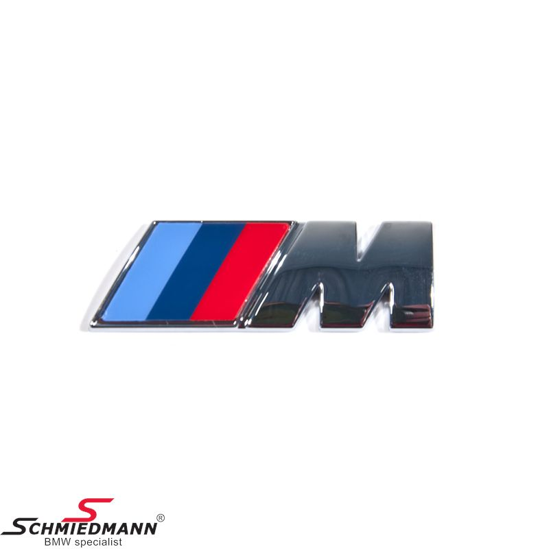 Emblem M-Technic for the trunk lid