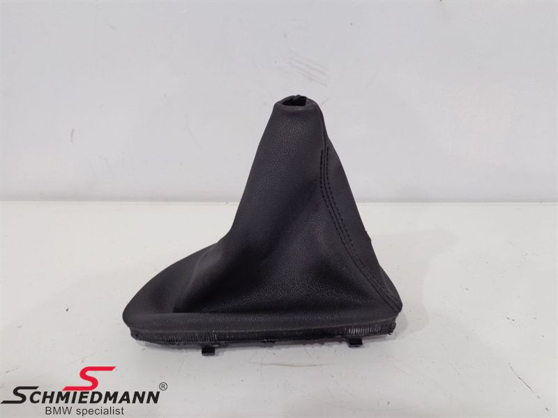 Gear lever cover manual transmission black