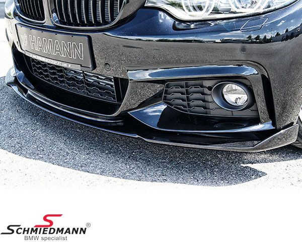 Frontspoiler lip original -Hamann Competition- for M-Technic frontbumper