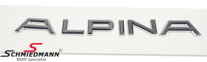 Alpina emblem til bagklappen