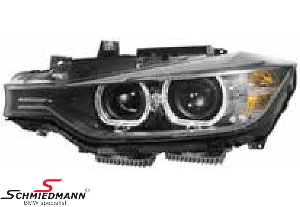 Forlygte D1S Bi-xenon V.-side komplet med xenon med kurvelys original BMW