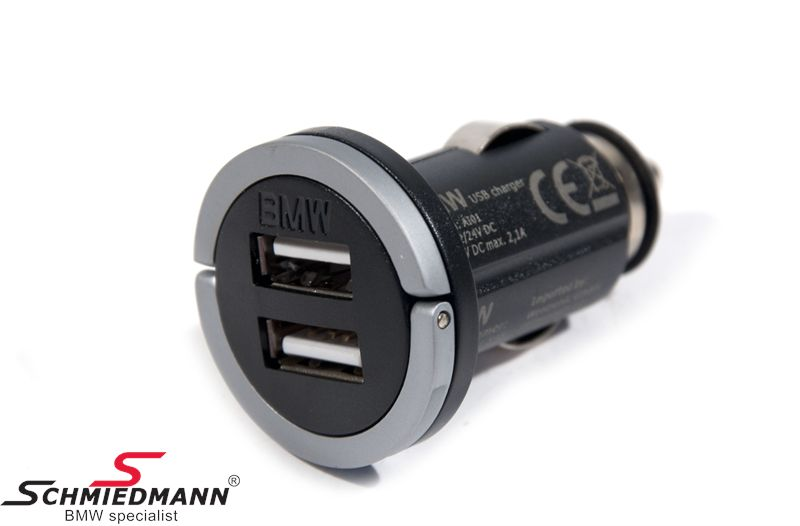 USB dual charger original BMW