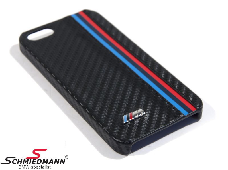 iPhone 5 BMW M Hard Cover - carbon design