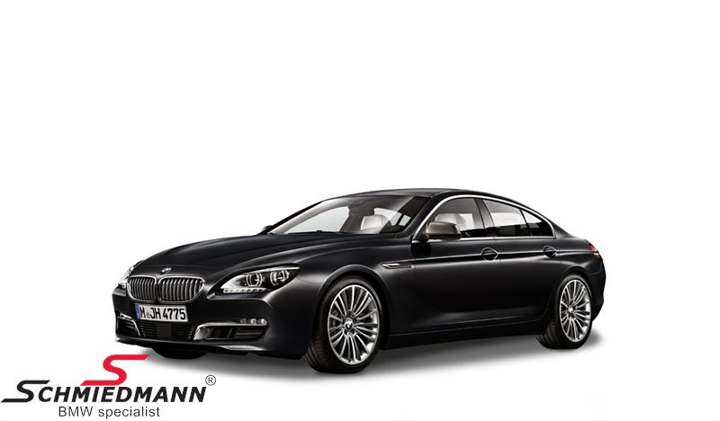 BMW miniature -BMW F06 Gran Coupé 6 serie- Black Sapphire scale 1:18