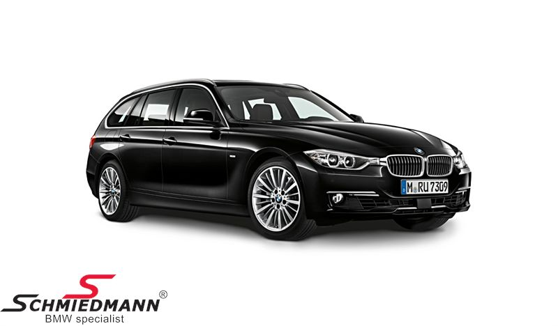 BMW miniature -BMW F31 3 series- Black Sapphire scale 1:18