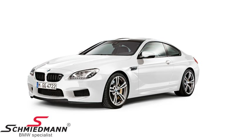 BMW miniature -BMW M6 F13 6 serie- Alpine White scale 1:18