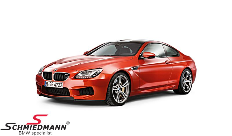 BMW miniature -BMW M6 F13 6 serie- Sakhir Orange scale 1:18