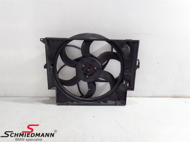 Radiator blower complete 400W