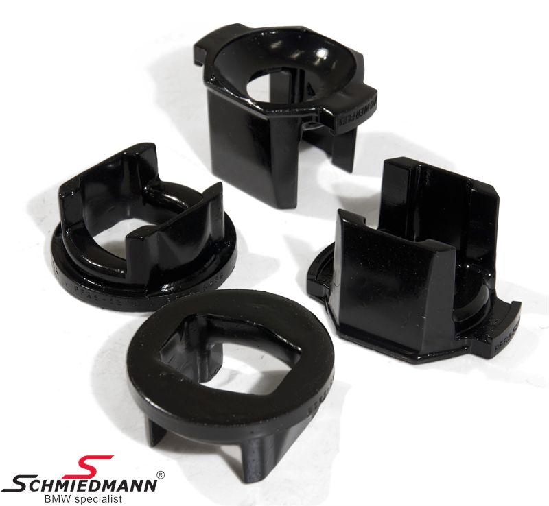 Powerflex racing -Black Series- bagbro-indsatser yderste forreste sæt (kun indsatser billigere alternativ til PFR5-520 + hurtigere montering) (til banebrug)