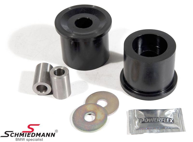 Powerflex racing -Black Series- bageste differentiale (bagtøj) bøsnings-sæt (til banebrug)