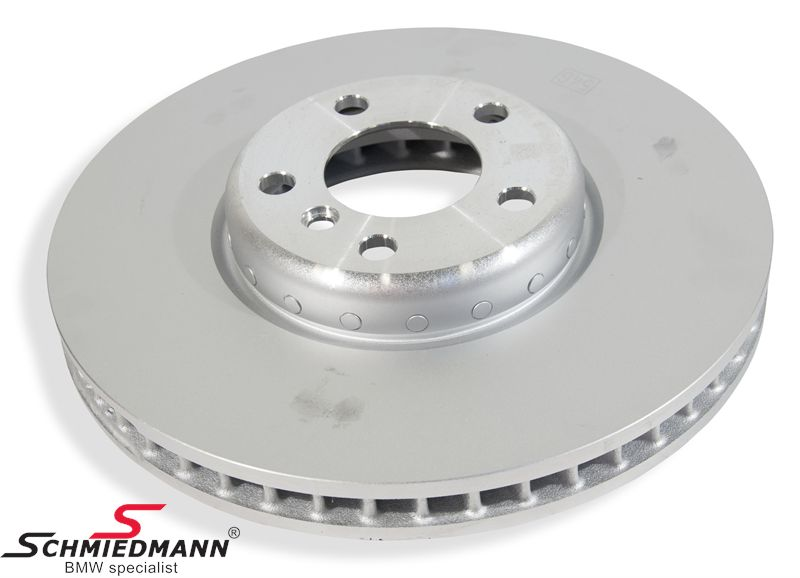 Brake disk R.-side 348x36MM - ventilated, bi-metal 2pcs