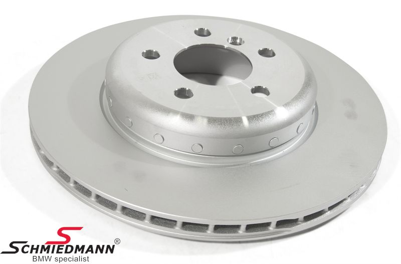 Brake discs rear ventilated 345X24MM, (Please note: price per pcs, original brake discs are sold per pcs and NOT per set)