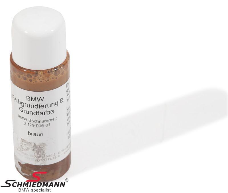 Læderfarve -brun- 100ML org. BMW
