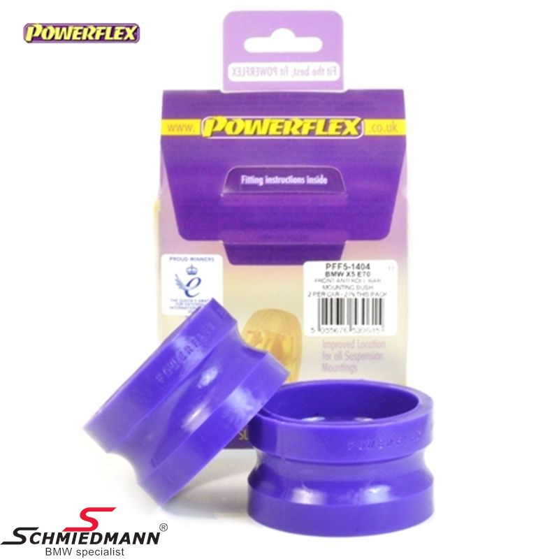 Powerflex racing stabilizer bush-set front