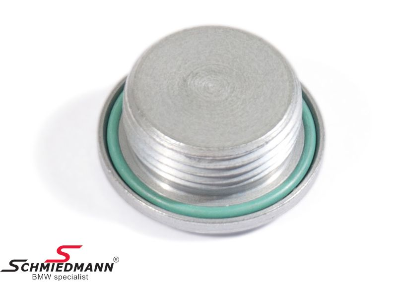 Drain plug with gasket final drive M22X1,5-ZNS3