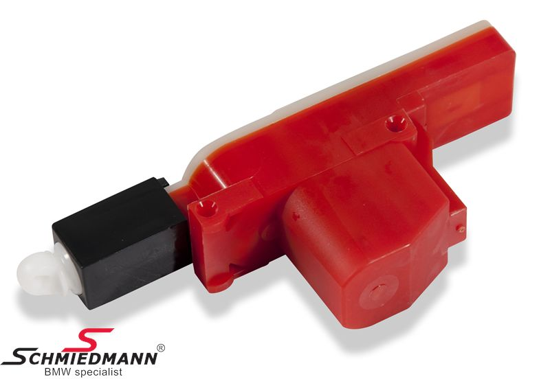Actuator central locking front