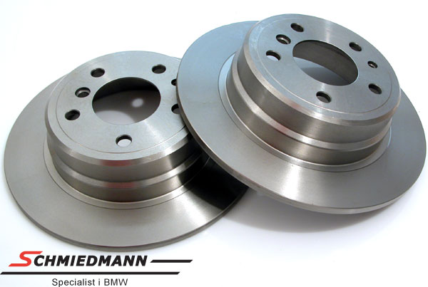 Brake discs rear solid 300X10