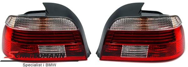 Rückleuchten original Hella Facelift 2000 rot/weiss