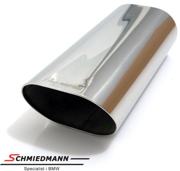 Eisenmann rund oval rørhale 90X70X230MM