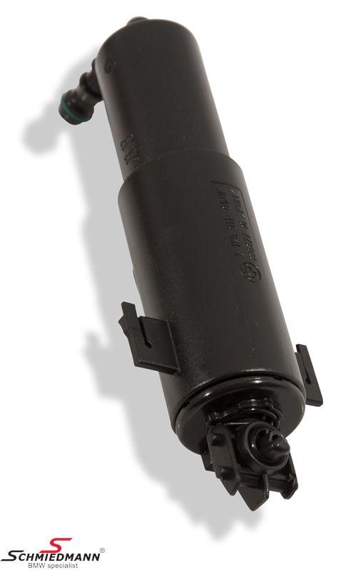Teleskop dyse uden dysehoved til forlygtevaske-system passer V.+H.-side