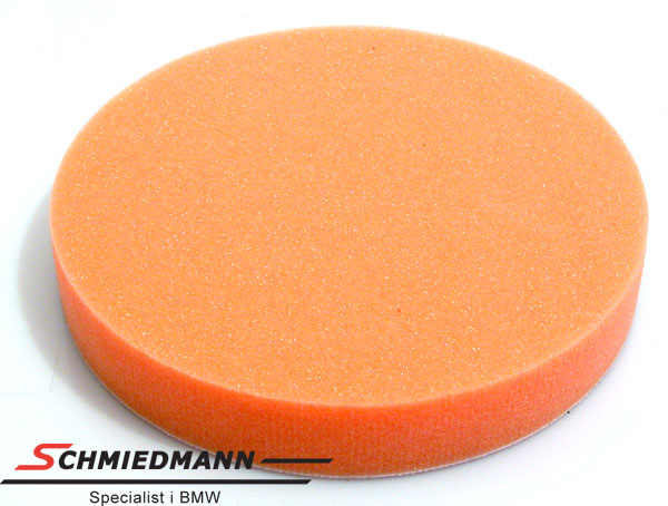 Polerskive orange skum grov 180X30MM