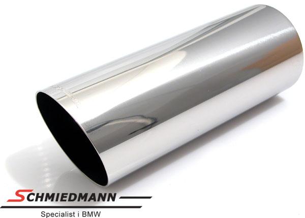 Eisenmann tailpipe round 83X230MM cut slantwise