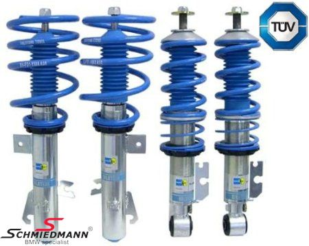 Coilover kit -BILSTEIN B14- hight adjustable front+rear 30-50MM (there must be orderede 2 x 33-50-6-778-572 (additionally in order to install the kit)