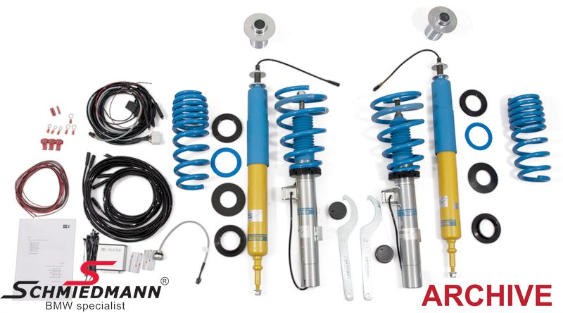 Coilovers  -BILSTEIN B16 ridecontrol-justerbar in hardness directly from the cockpit justerbar höjd fram+bak  30-50MM