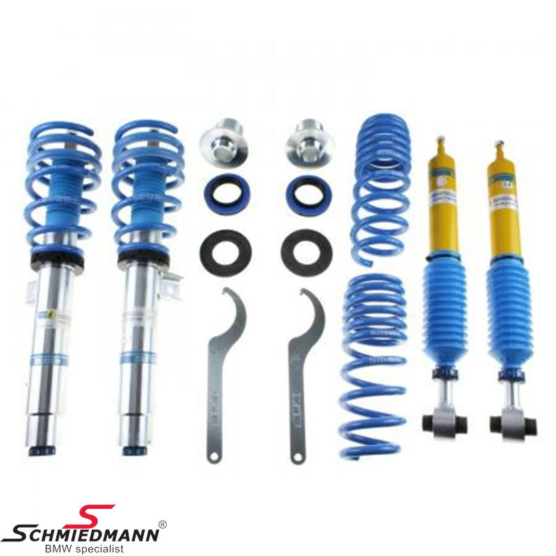 Complete -BILSTEIN B16- fjädringskitt justerbar in hardness och hight 30-50MM