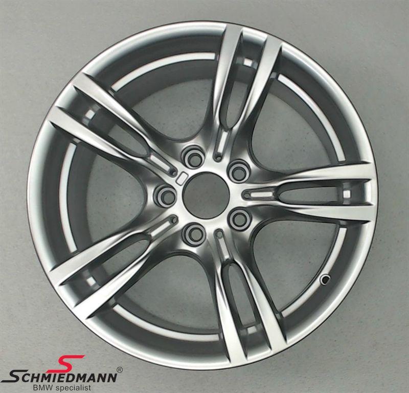 """18"""" M-Sternspeiche 400 Dekorsilber 2, rim 8,5X18 ET47 (original BMW fits only rear)"""
