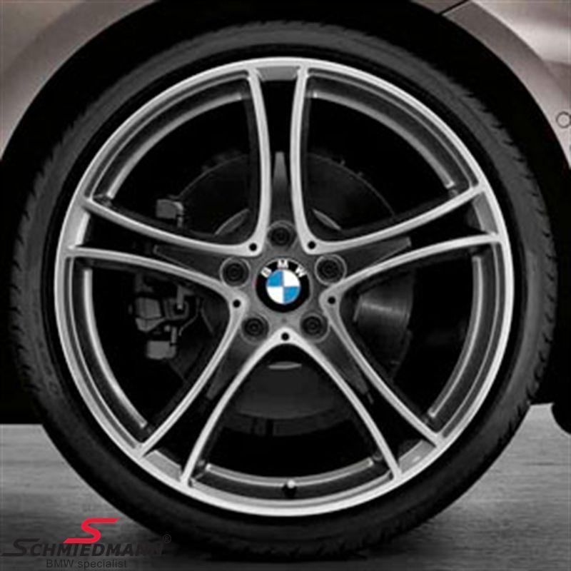 "20"" M-Doppelspeiche 361 glanzgedreht, rim 8,5X20 (original BMW fits only rear)"