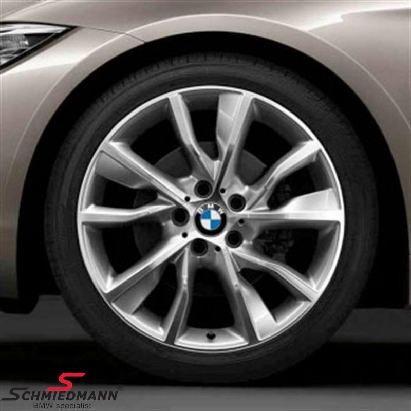 "19"" Turbinenstyling 402, glanzgedreht, fælg 8X19 (original BMW)"