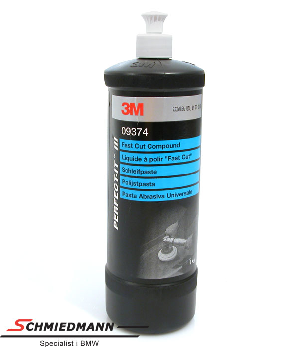 Wax polering grov sammansättning 3M fast cut compound 1L flaska