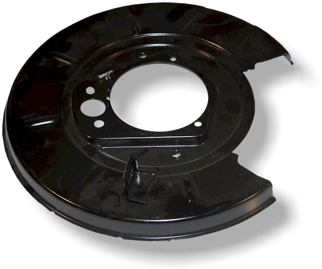 Brake protection plate rear L.-side