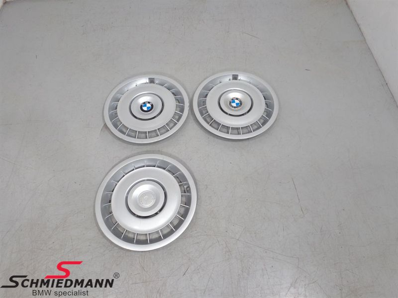 "Wheelcovers 15"" 3pcs"