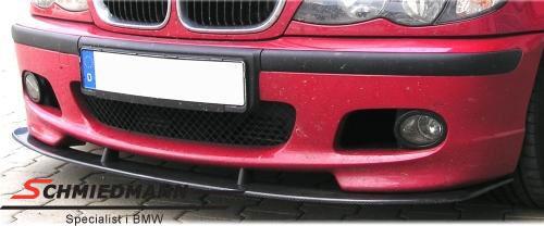 Frontspoiler-sverd ekte karbon til original M-Technic 2 frontspoiler