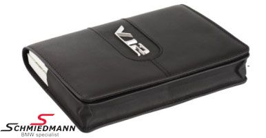 Inspectionbook holder -V12- genuine leather